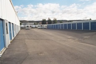 Our storage units on Billings' West End.
